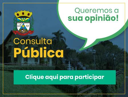 Consulta Pública - Clique aqui e participe